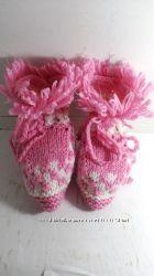 Детские пинетки-носочки