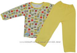 Пижама на кнопках Алиса Украина желтый р. 26 1014600