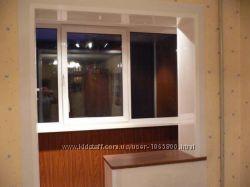 Утепление изнутри, Обшивка и ремонт, утепление балкона и лоджии, Киев