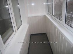 Пластиковые панели на стену и потолок, установка, монтаж, КИЕВ
