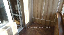 Вагонка на лоджию и балконы Обшивка балконов вагонкой, панелями ПВХ, КИЕВ