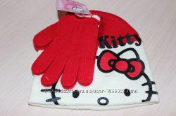Набор шапка с перчатками