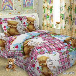 Акция Бязь для постельного детские расцветки цена снижена