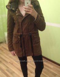 куртки-парки ZARA, Bershka