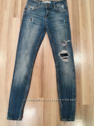 джинсы скини  ZARA