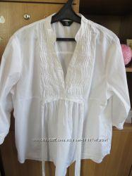 Белоснежная блузочка, Mothercare. 50 размер