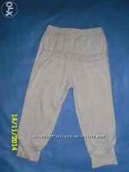 Велюровые штаны на 12-18-24 мес