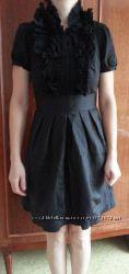 Шикарное черное платье BCBGMaxAzria р. S