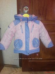 Зимняя куртка на девочку Donilo 92p.