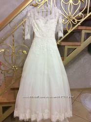 Весільна сукня XS айворі