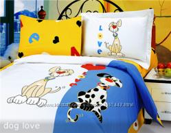 Сатиновое постельное белье Le Vele в кроватку.