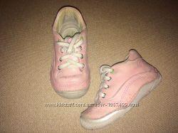 Кожанные демисезонные ботинки Strite Rite 23 размер 15 см