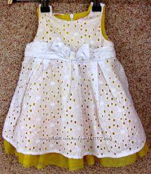 Платье нарядное на 6-9 месяцев PLACE