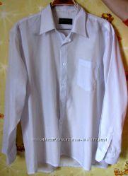 Рубашка белая, воротник 42 см