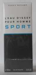 Issey Miyake LEau dIssey Pour Homme Sport туалетная вода- оригинал