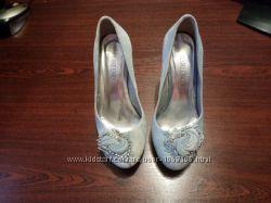 Туфли женские-джинс