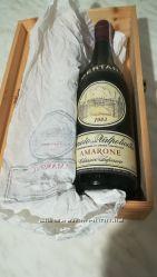 Продам винтажное красное вино Bertani 1983 года