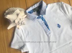 Хлопковая тенниска ralph lauren