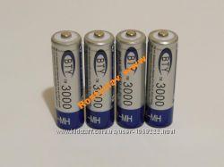 Аккумулятор батарейка BTY АА 3000mah 4шт.