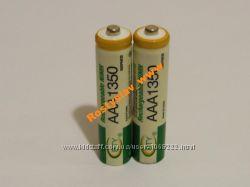 Аккумулятор батарейка BTY ААА 1350mah 2шт.