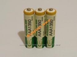 Аккумулятор батарейка BTY ААА 1350mah 3шт.