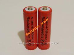 Аккумулятор батарейка АА 3000mah 2шт.