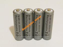 Аккумулятор батарейка АА 3000mah 4шт.