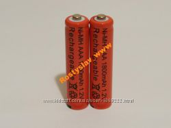 Аккумулятор батарейка ААA 1800mah 2шт.