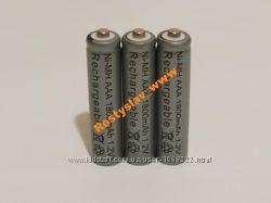 Аккумулятор батарейка ААA 1800mah 3шт.