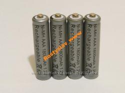 Аккумулятор батарейка ААA 1800mah 4шт.