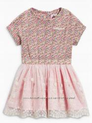 Нарядное платье Next, рр 2-3 года 98 см, в наличии