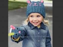 Мультяшный комплект Next шапкаварежки, рр 3-4 1, 5-2, 5 года