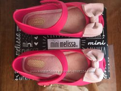 Туфельки Mini Melissa, с ароматом конфеток и сандала, рр 8 24, оригинал