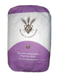 Продам муку из твердых сортов пшеницы Semola Rimacinata di grano duro 25 кг