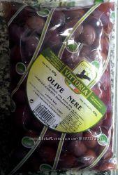 Продам ченые оливки с косточкой сорта Каламата