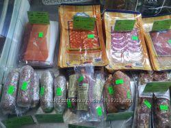 Продам мясную продукцию в нарезке прошутто, салями, хамон курадо