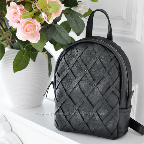 60456fc62933 Кожаный рюкзак, Jizuz Archer Black, 1200 грн. Рюкзаки женские - Kidstaff |  №17087531