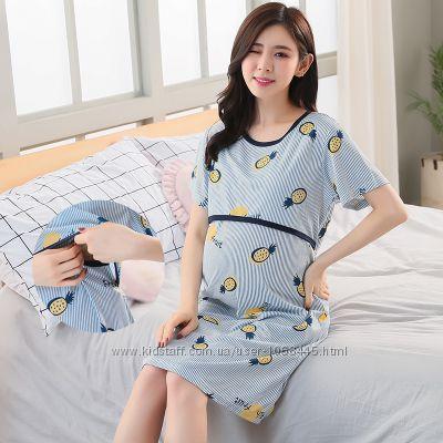 Пижамы для беременных и кормящих мам