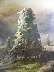 Картины Юрия Лаптева, холст, масло