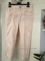 Бриджи Mango цвета розового жемчуга