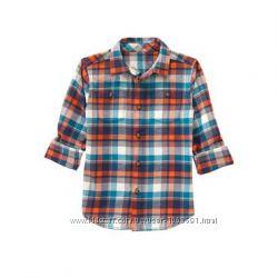 Фланелевая рубашка GYMBOREE оригинал из Америки,  10-12 лет