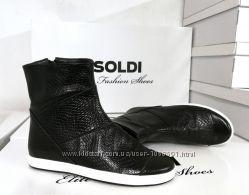 Кожаные ботинки ТМ Солди, модель Элси. р 39