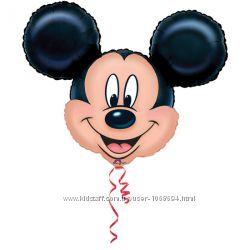 Фольгированные шары Микки Маус шарики фигуры праздник