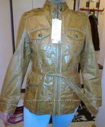 Куртка, курточка, кожаная, новая JARIS