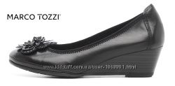 Туфли, классика, кожа, новые Marco Tozzi