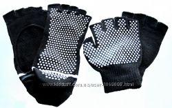 Носки и перчатки для йоги нескользящие набор