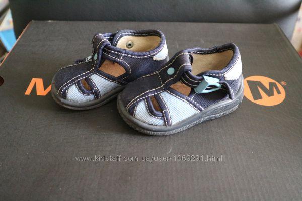 тапочки туфли для мальчика Zetpol