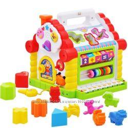 Игрушка Теремок сортер  Huile Toys Веселый домик по супер цене