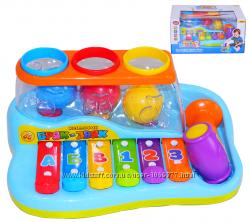 Ксилофон Бряк-Звяк JOY TOY 9199 Развивающая музыкальная игрушка