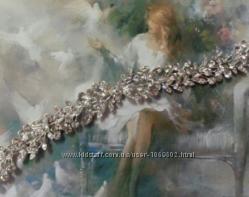 Диадема веточка тиара невесте